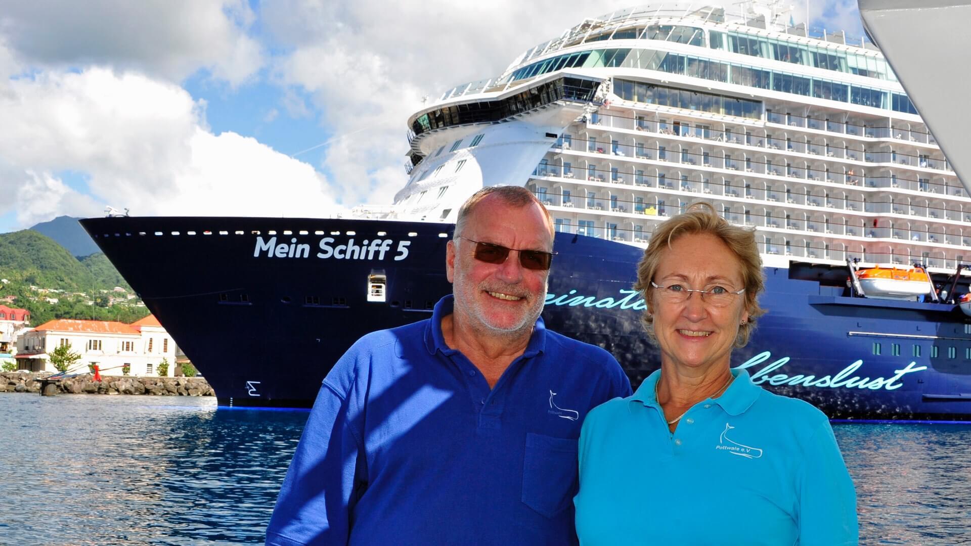 TUI Cruises unterstützt Pottwale e.V.